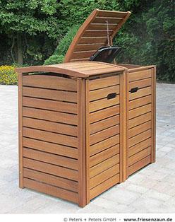 m lltonnenboxen hartholz 25 jahre garantie. Black Bedroom Furniture Sets. Home Design Ideas