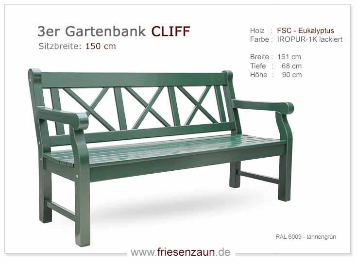 Friesenbank Sylter Gartenbank Weisse Friesenbanke Mit 25 Jahren