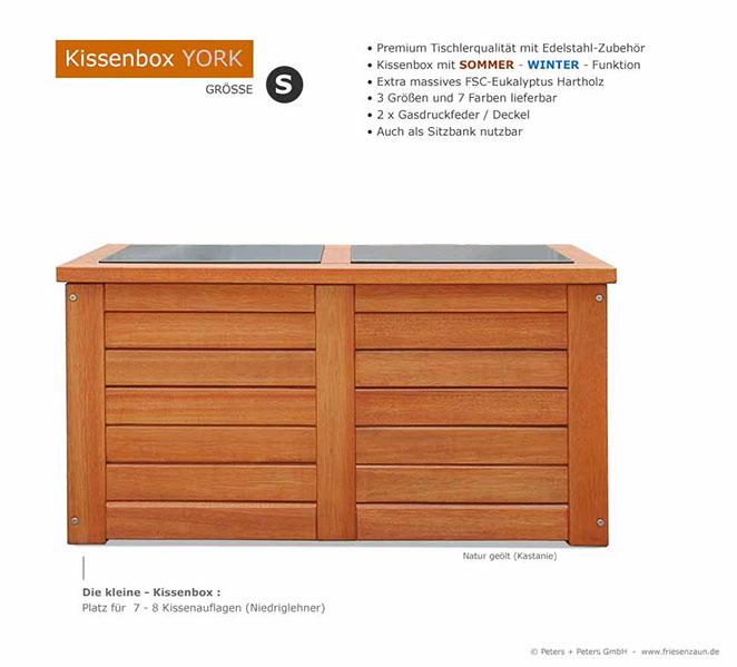 Premium Kissenbox Fsc Hartholz Geolt Grun Weiss Grau Blau